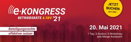 eKongress Betriebsräte & SBV 2021